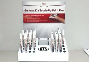 Kia Snow White Pearl Touch Up Paint Color Code SWP UA011-TU5014SWP OEM