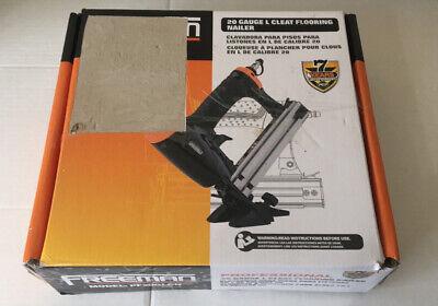 Freeman Pf20glcn Pneumatic 20-gauge L-cleat Flooring Nailer