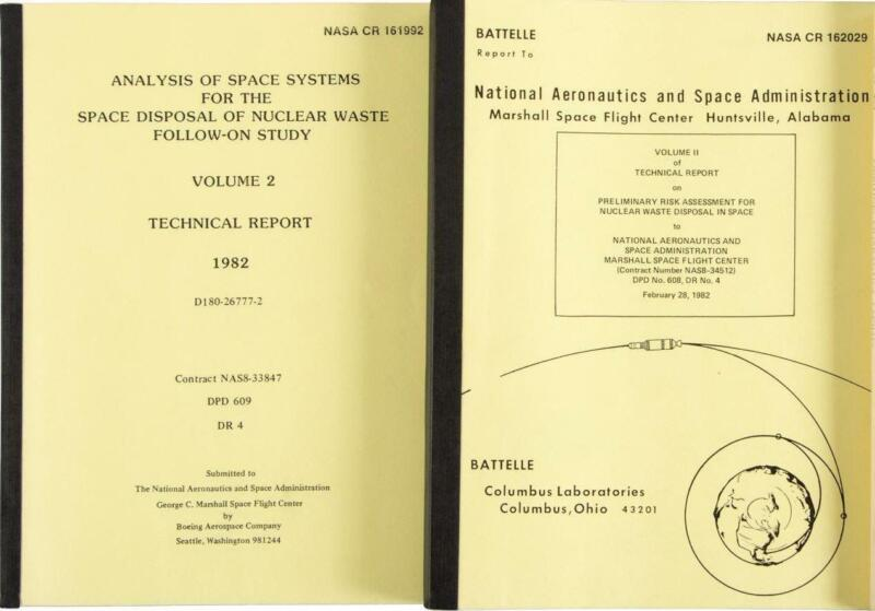 1982 Polluting Space with Earth's Nuclear Waste