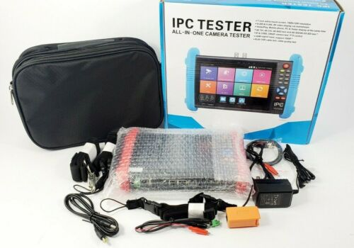 7 Inch Touch Screen 5 in 1 CCTV Tester Up to 4K IP Camera IPC-9800ADH PLUS - NEW
