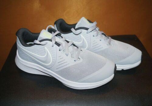 Nike Star Runner 2.0 Engineered For Speed Run Fast Gray Sneakers Sz US 3.5 Y