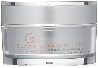 Glycolix Elite 10  Glycolic Acid Facial Cream 1 6 Oz