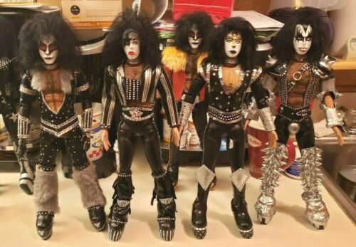 KISS CREATURES 1/6 FIGURE SCALE 12 INCH CUSTOM REPLICA CRAFTED DOLL SET