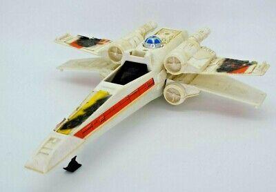 Star Wars Vintage X-WING BATTLE DAMAGED, ROTJ, ESB, 1980S, LUKE SKYWALKER