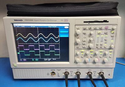 Tektronix Tds5104b 1 Ghz 5 Gsas Dpo Dpx Digital Oscilloscope