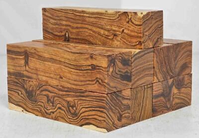 Desert Ironwood 9 Turning Blanks Knife Scale 6.0 X 1.5 X 1.5 Grade A Box KM - $103.05