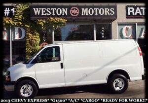 2013 Chevrolet Express 1500 A/C*CARGO*READY FOR WORK!!*