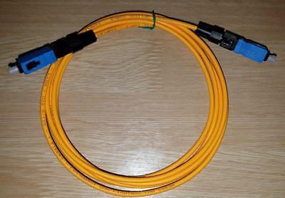 Cable Fibra Optica SC a SC 2.0 mts. Prolongador alargadera Router fibra...