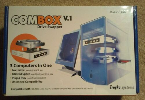 Troyka Systems Combox V.1 Drive Swapper Model# T-105 - For Ide, Scsi, Sata, Etc.
