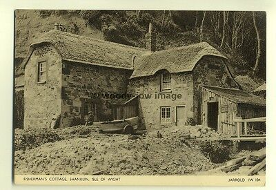 h0771 - Fishermans Cottage , Shanklin , Isle of Wight - postcard