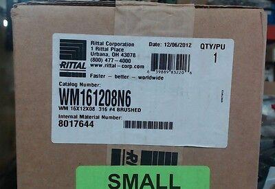 Nib Rittal Wm161208n6 Enclosure 316 Stainless Steel - 16 X 12 X 8