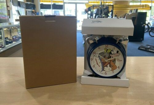 Walt Disney Goofy Alarm Clock Brand New Free Shipping