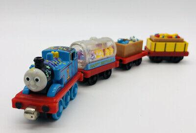 Thomas Sodor Birthday Celebration Set Cargo Tank Friends Train Take N Play Along