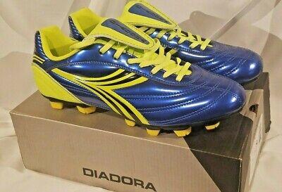 Diadora Maximus SU RTX Men/'s Soccer Cleats Red /& Blue colors Only Medium D,M