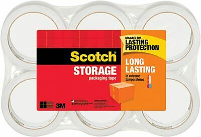 3m Scotch Moving Storage Packing Tape 6 Rolls Heavyduty Shipping Packaging Usa