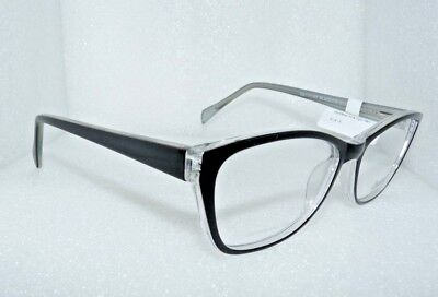 NEW NEW YORK EYE ENHANCE EN3976 BLACK CRYST EYEGLASSES GLASSES FRAMES 56-17-145