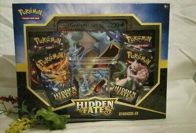 **** NEW **** Pokemon ~ Hidden Fates Gyrados GX COLLECTION BOX!!