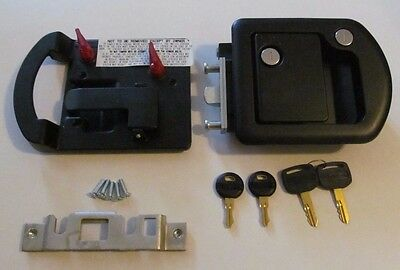 RV Motorhome Entry Door Lock Dead Bolt 060-0650 TriMark 060-1650 Steel Plunger
