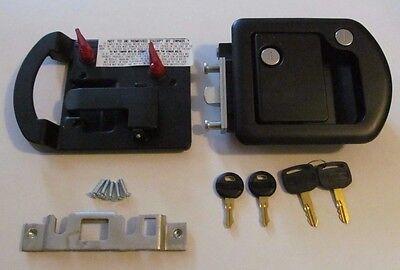 RV Motorhome Entry Door Lock Dead Bolt 060-0650 TriMark 060-1650 Steel Plunger