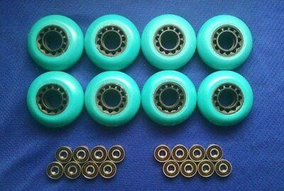 Outdoor Rollerblade Inline Hockey Fitness Skate Wheels 70mm 84A Bearings ABEC-7