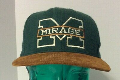 Las Vegas Mirage Hotel Casino Hat - Baseball Cap Style - One Size Adjustable