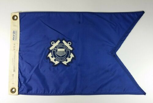 Vintage US Coast Guard Auxiliary Ship Flag Pennant Fleet Flotilla Command