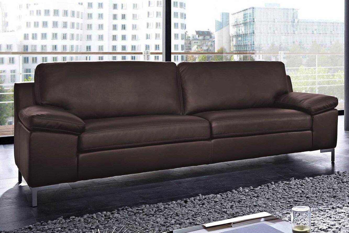 echt leder sofa monza couch garnitur 2er oder 2 5 sitzer oder 3er 3 sitzer neu eur. Black Bedroom Furniture Sets. Home Design Ideas