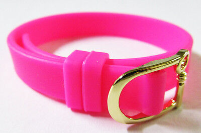 Keep Collective Pink Silicone Single Band Keeper Bracelet Jewelry 8 9