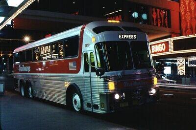 Trailways Eagle Bus Kodachrome original Kodak Slide