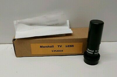 NEW OLD STOCK! MARSHALL HIGH RESOLUTION LOW LIGHT PINHOLE TV LENSE V-PL60CS ()