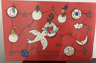 L'Occitane Sealed Advent Calendar 2018 With 24 Beauty Skincare Products New