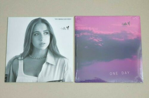 """TATE MCRAE - YOU BROKE ME FIRST & ONE DAY Bundle Vinyl 7"""" Stamped Signature /500"""