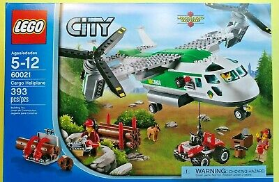 Brand New! LEGO 60021 Cargo Heliplane Factory Sealed! Osprey NIB