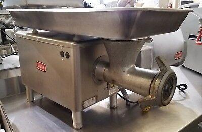 Berkel E-222 Meat Grinder Butcher Grocery 20 Lbs Per Minute 220v 1ph