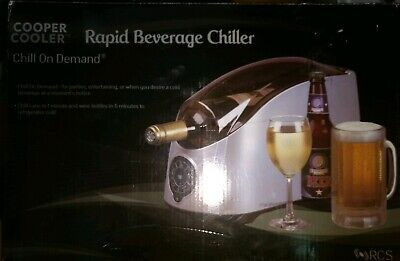 Cooper Cooler ~ Rapid Wine Beverage Chiller Model HC-01 ~ Unused