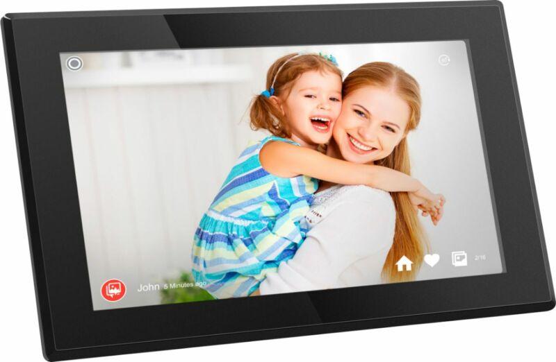 "Aluratek - 15.6"" Touchscreen LCD Wi-Fi Digital Photo Frame"