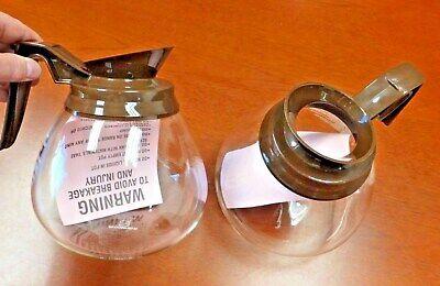 For Bunn - 2 Pk. - 64oz. Commercial Coffee Potcarafedecanter - Regular Brown