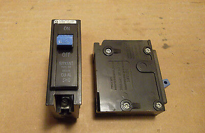 Lot Of 3 Bryant Br Br115 1 Pole 15 Amp 120v Circuit Breaker