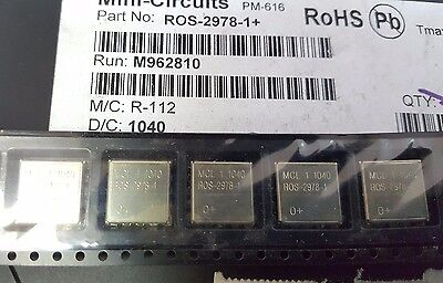2x Mini-circuits Ros-2978-1  Vco 2848-2978 Mhz 5v Ck605 Smt See Picture