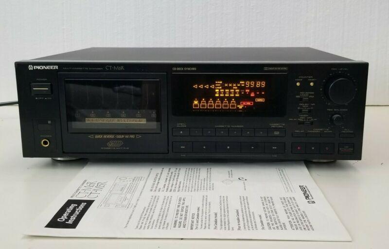 Pioneer CT-M6R Multi Cassette Changer (Serviced)