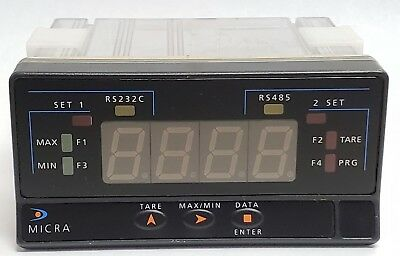 Ditel Micra E Voltmeter Ammeter Multifunction Display Panel Meter Micra-e