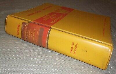 Case 680-ck Construction King Loader Backhoe Service Shop Repair Book Manual