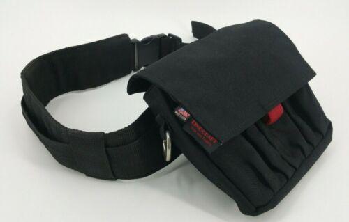 "Filmtools Lindcraft Grip & Supply Jumbo AC Pouch & RTP 3"" to 2"" Dual Belt Black"