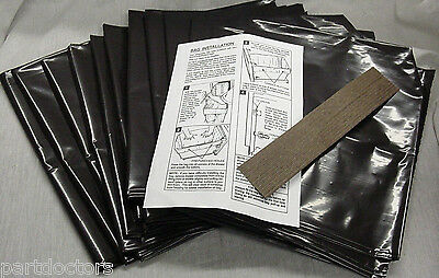 NEW 48 Pack Broan 12 Inch Plastic Trash Compactor Bags 93620
