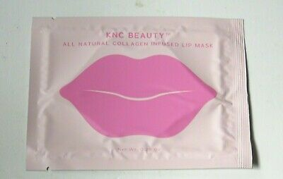 KNC Beauty All Natural Collagen Infused Lip Mask x 1 New Sealed