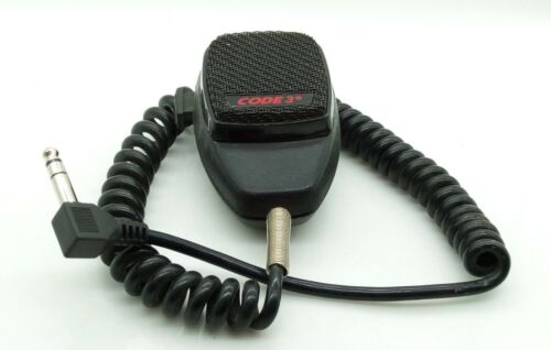 CODE 3 PA Hand Held Microphones Set Of Two  P/N 7309      JAN2919.24.01
