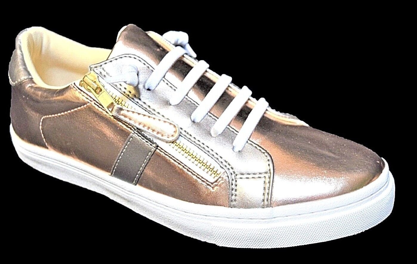 TS shoes TAKING SHAPE sz 11 / 42 Millicent Sneakers wide fit metallic rose NIB!