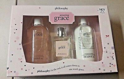 Grace Gift Set - Philosophy Amazing Grace Women's 3 Piece Gift Set