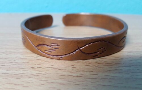 NEW - AFRICAN ZAMBIAN Copper Bracelet  benefits Orphanage