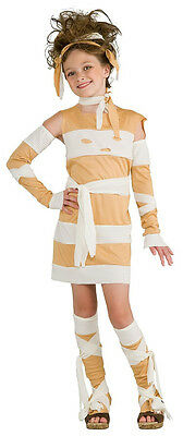 Glamour Mummy Egyptian Wraps Scary Cute Fancy Dress Up Halloween Child Costume